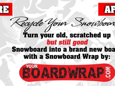 Snowboard Wrap Season!