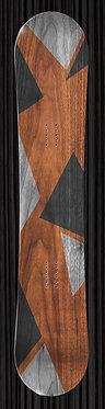 Geometric Shapes Wood | YourBoardWrap.com
