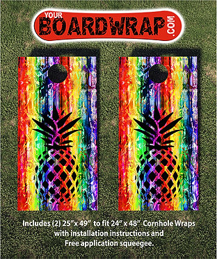 Cornhole Board Wrap 409