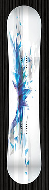 Blue Crystal Snowboard Wrap Design 288
