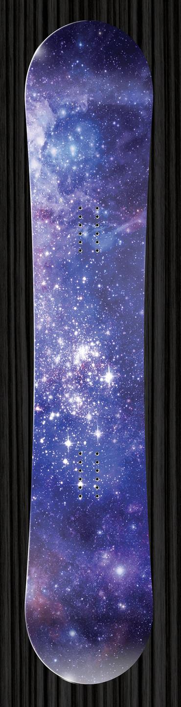 Galaxy Snowboard Wraps