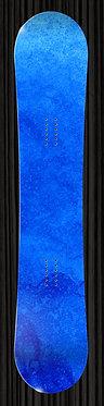 Blue Watercolor Snowboard 320