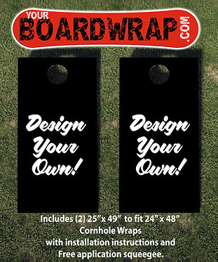 Design Your Own Cornhole Wrap