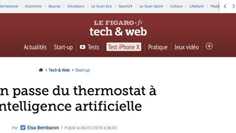 Ween passe du thermostat à l'intelligence artificielle