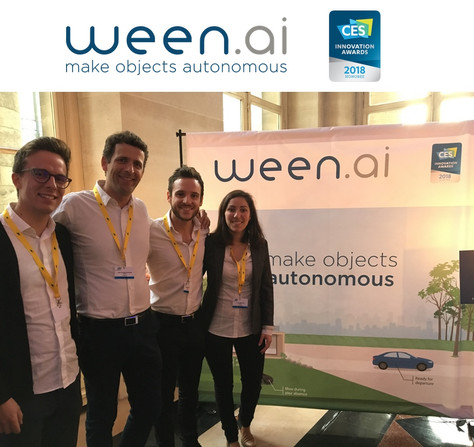 Un Innovation Award pour ween.ai !