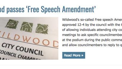 "West Newsmagazine ""Free Speech Passes!"""