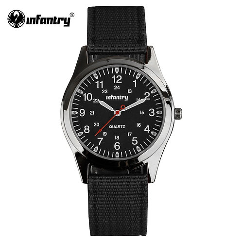 INFANTRY Military Watch Men Minimalist Luminous Mens Watch