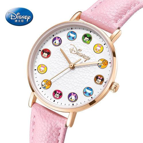 2020 Disney Princess Cartoon Girl Quartz Watch Lady Fashion Watch Women
