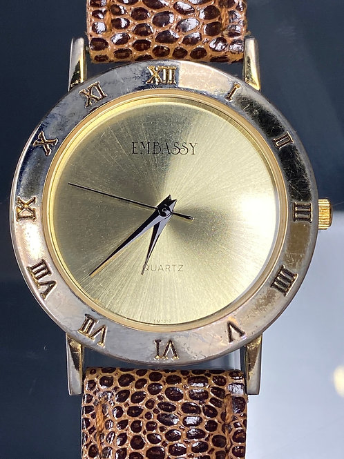 Ladies Vintage Embassy Quartz Wristwatch