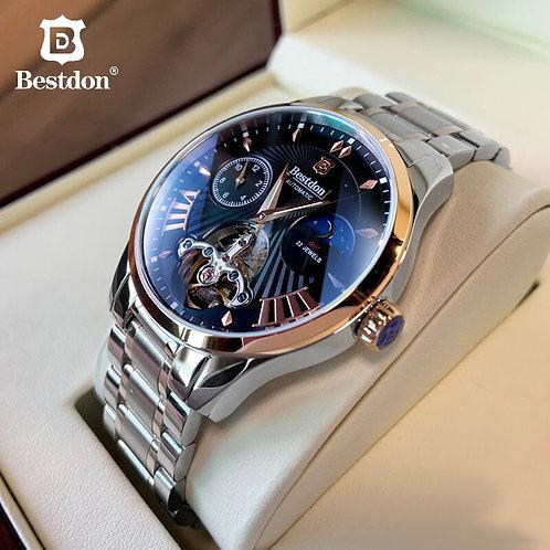 Switzerland Automatic Mechanical Watch Men Bestdon Luxury Brand Tourbillon Watch