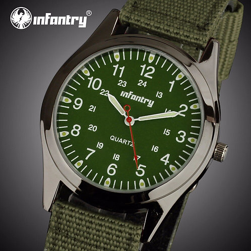 INFANTRY Mens Watches Top Brand Luxury Military Watch Men Fashion Sport Luminous