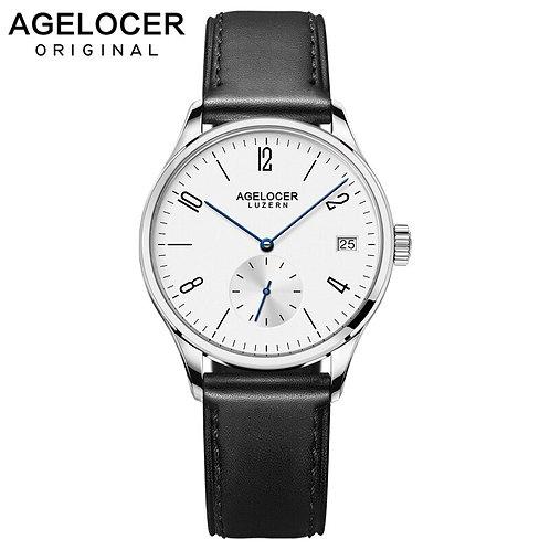 Agelocer Luxury Brand Fashion Women Watches Genuine Leather