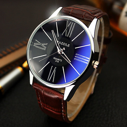 Mens Watches Top Brand 2020 Yazole Watch Men Fashion Business Quartz Watch