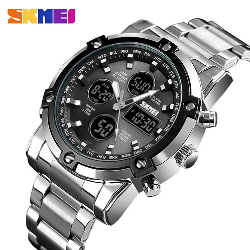SKMEI Brand Men Digital Watches Fashion Countdown Chronograph Sport Wristwatch