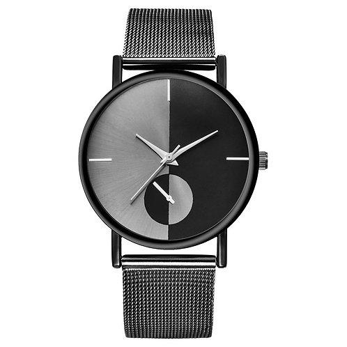 1PC Luxury Watch Women Mesh Ultra-Thin Quartz Wrist Watch Female Clock Fashion
