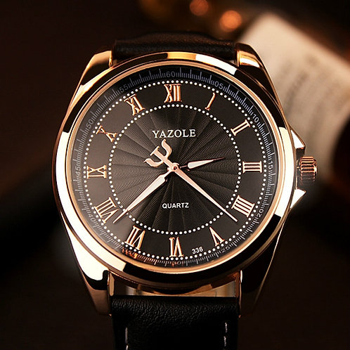 YAZOLE 2019 Business Watch Men Top Brand Luxury Quartz Wrist Watches Classic