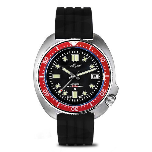 Luminous Watch Men,mens Sport Dive Watches HEIMDALLR Luxury Brand Automatic Mech