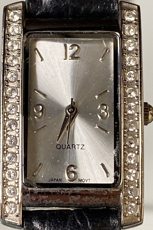 Ladies Classic Hollywood Diamond Quartz Wristwatch