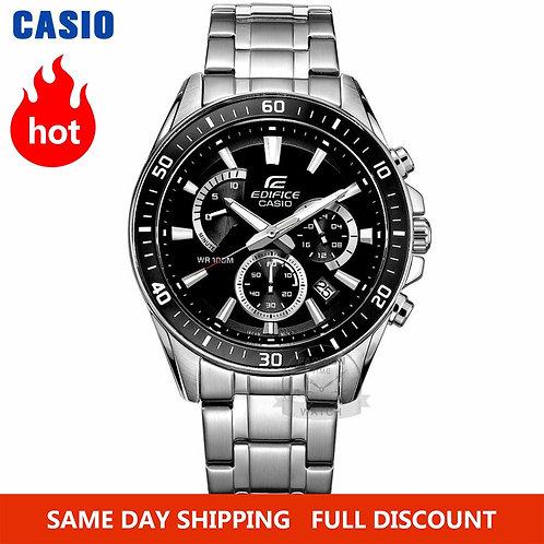 Casio Watch Edifice Watch Men Top Luxury Set Quartz 100m Waterproof Chronograph