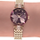 Thumbnail: Facet Strass Swiss Ladies Watch J5.631.S