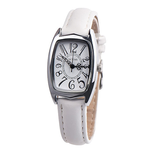 Simple Women Watches OKTIME FashionCasual Chic Retangle Womens Leather