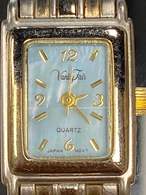 Ladies Ice Blue Vanity Fair Quartz Wristwatch