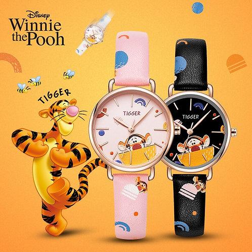 Disney Original Winnie the Pooh Tigger Cartoon Kids Quartz Watches Fashion