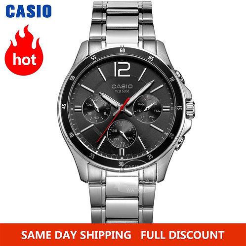 Casio Watch Wrist Watch Men Top Brand Luxury Set Quartz Watche 50m
