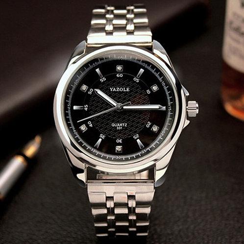 2019 Yazole Men Wrist Watch Top Brand Luxury Famous Steel Belt Male Clock Quartz