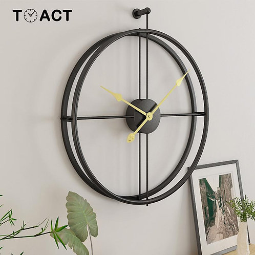 Wrought Lron Wall Clock Home Decoration Office Large Wall Clocks Mounted