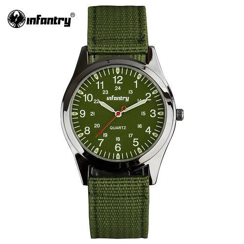INFANTRY Military Watch Men Glow in Dark Wristwatch Mens Watches Top Brand