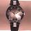 Thumbnail: Facet Strass Swiss Ladies Watch J5.651.M
