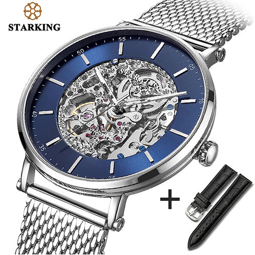 STARKING Watch Brand Stainless Steel Male Watch Automatic Movement Men