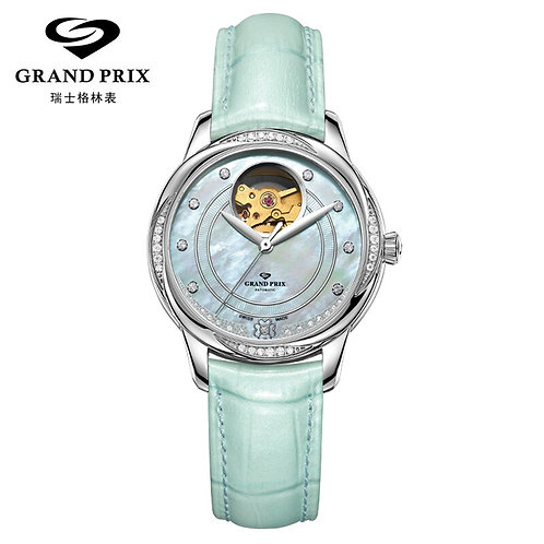 GRAND PRIX Top Brand Mechanical Women Watch