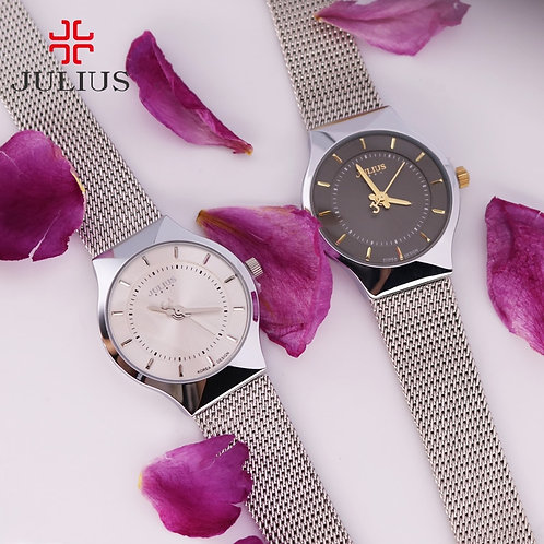 Thin Japan Quartz Julius Women's Watch Simple Hour Fashion Classic