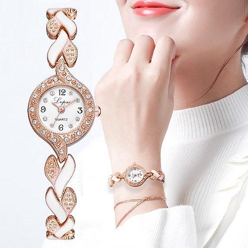 Lvpai Brand New Bracelet Watches Women Luxury Crystal Dress Wristwatches