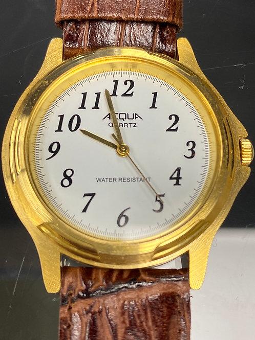 Mens Acqua Water Resistant Wristwatch