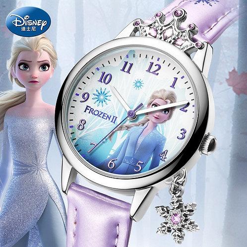 Disney Frozen Ⅱ Princess Series Elsa Luxury Bling Rhinestone Crown Snowflake