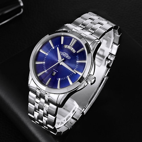 2018 TIME 100 New Mens Watches Casual Male Quartz Watches Men Stainless Steel