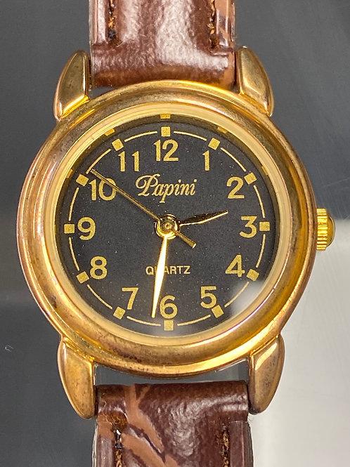 Ladies Vintage Papini Quartz Wristwatch