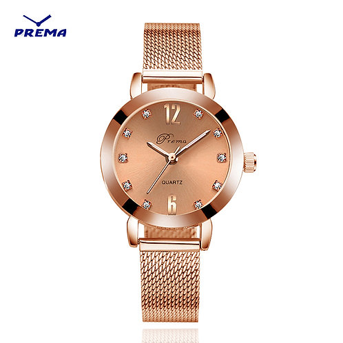 Bracelet Watch Silver New Ladies Watch Rose Gold Women Wrist Watches Stainless