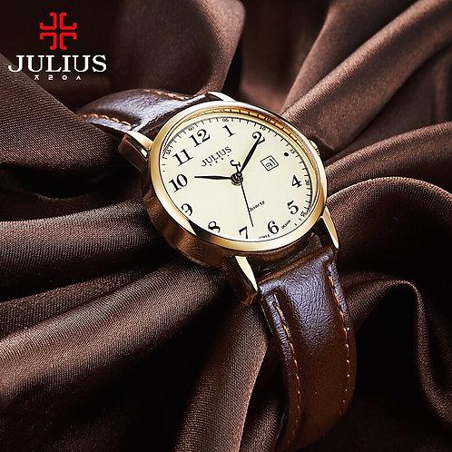 Top Julius Women's Watch Japan Quartz Hours Auto Date Fine Fashion Woman