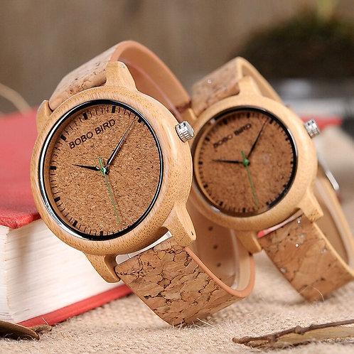 BOBO BIRD M12 Bamboo Wood Quartz Watch for Men and Women Wristwatches