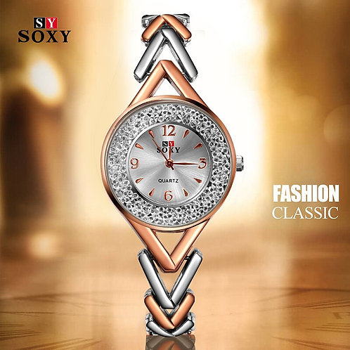 New Women Bracelet Watches Fashion  Rhinestone  Women's Watches Exquisite