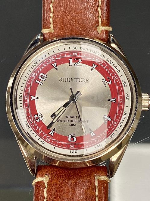 Men's Rugged Outdoor Structure Wristwatch