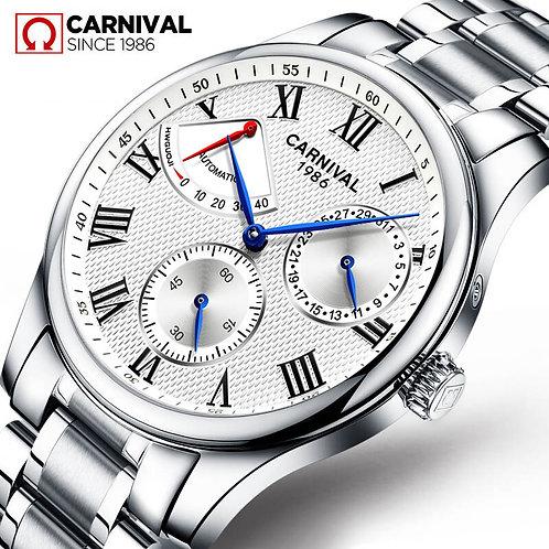 Seiko Automatic Movement Carnival Top Brand Luxury Men Mechanical Watch
