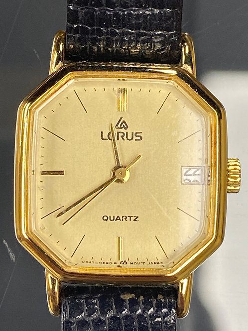 Ladies Stunning Vintage Lorus Date Quartz Wristwatch