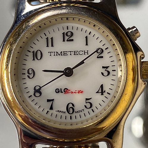 Ladies Awesome TimeTech GloBrite Quartz Wristwatch