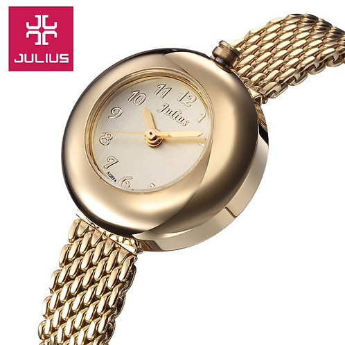 Top Julius Lady Women's Watch Japan Quartz Hours Fashion Bracelet