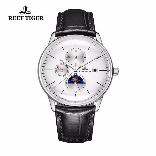 2020 New Reef Tiger/Rt Fashion Casual Watches Men Waterproof Automatic